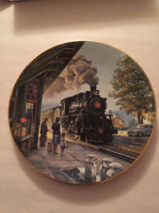 Ted Xaras collector plate