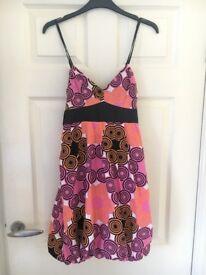 Bright summer dress
