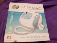 Brand new laser hair removal kit