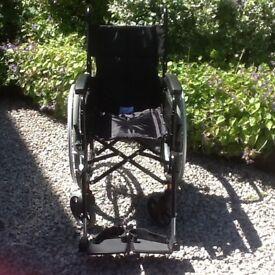 Large wheel, wheelchair, 4 months old vgc