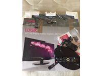 "22"" LOGIK 1080p LED TV. Good Condition. Original box and packaging."