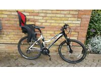 Saracen TurffTrax Mountain Bike & Accessories ** Bargain Price**