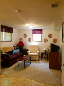 Furnished basement suite for rent