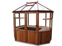 Alton Octagonal - Ex Display - 6ft x 8ft 6 - never been outside. Unwanted purchase