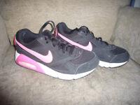Black Nike Air trainers