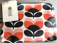 Orla Kiely Flower Stripe Cosmetics Bag