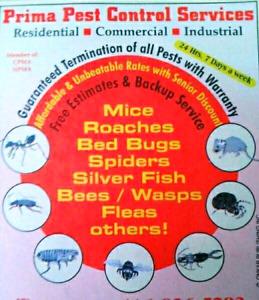 Prima Pest Control Services --- GTA AND SURROUNDING