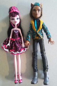 Monster High sweet 1600 Draculaura and Clawd