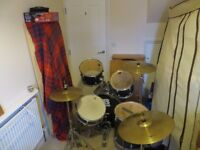 Cb drums SP series drum kit w.double bass pedal