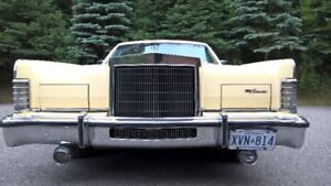 1979 Lincoln Town Car. Original mileage. Amazing condition.