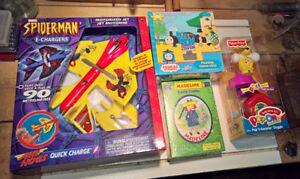 Spiderman, Hula Hoops, Golf Clubs & other Kid's Toys