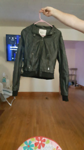 Tattoo Leather Jacket (Faux Leather)