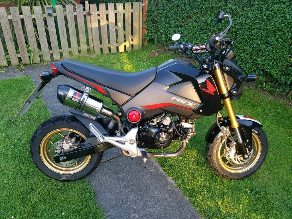 honda msx 125 grom 125cc motorbike in norwich norfolk gumtree. Black Bedroom Furniture Sets. Home Design Ideas