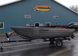 Crestliner Sportman 14, Mercury 30hp with Trim and Trailer