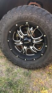 Anyone wanna trade 18s and 2 sets of tires for 20s?