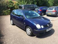 Volkswagen polo 1.4 automatic-2004 model-5dr hatchback-cheap insurance-part exchange available