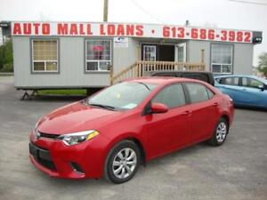 2015 Toyota Corolla LE **PAY ONLY $47 WEEKLY OAC**