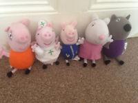Peppa Pig, George, Mummy Pig, Suzy Sheep, Danny Dog
