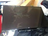 48inch Bush TV (slightly damaged)