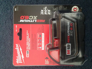 FS: Milwaukee m18 6.0ah battery