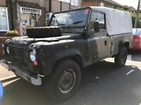 Land Rover Landrover 110 ex MOD SWAP why