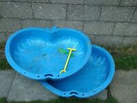 FREE TO COLLECT - PLASTIC WATER/SAND PIT