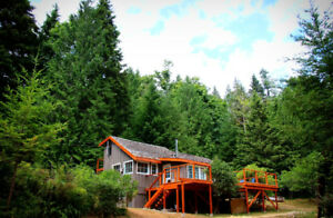 """Sky View"" - 12 Acre Gambier Island Estate for Sale"