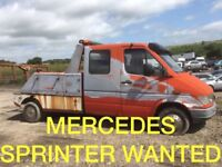 Mercedes Benz car jeep van wanted!!!