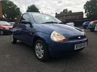 2008 FORD KA 1.3 STYLE CLIMATE *** ONLY 66000 MILES + 12 MONTHS MOT + PART SERVICE HISTORY**