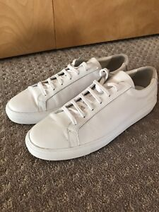 Common projects white sneakers