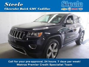 """2016 Jeep GRAND CHEROKEE Limited 4x4 20"""" Alloys !!!"""