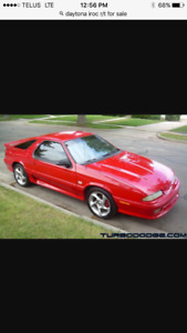 Looking for 92-93 Daytona iroc or r/t
