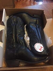 Cowboy boots by Canada west size 10
