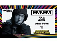2 x Eminem tickets for sale, Bellahouston Park Thursday 24th august bellahouston park