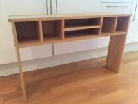 Small wooden shelving / organiser