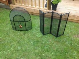 2 X fire guards,one BNWT