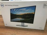 "BRAND NEW & SEALED DELL ULTRASHARP 24"" MONITOR **MASSIVE SAVINGS*"