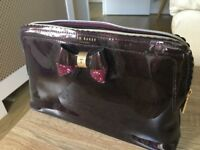 Ted Baker Purple Vanity Case