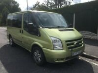 FORD TRANSIT TOURNEO 2.2 TDCi GLX 130 PSi, 9 SEATER, 2007 07-REG... STARTING ISSUE/EASY FIX..!!