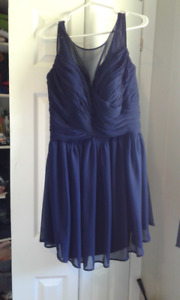 Worn Once - Dark Navy Dress/Bridesmaids Dress