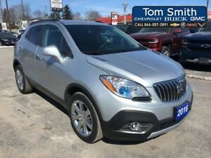 2016 Buick Encore LEATHER - BLUETOOTH, REAR VISION CAMERA, STEER