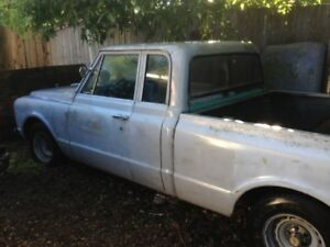 CUSTOMIZED 1968 Chev Truck - Extended Cab