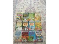 Horrible histories, science and geography books