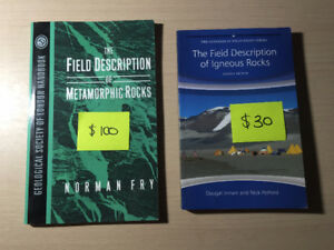 Various Geology Textbooks [IGNORE PRICES ON PICTURES]