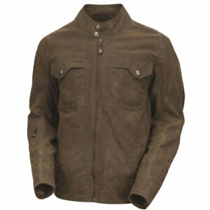 Roland Sands Design (RSD) Tracker Waxed Cotton Motorcycle Jacket