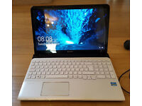 Sony Vaio Laptop / 15.5in screen / Windows 10 / Intel Core i3 / 4GB RAM / 668GB HDD