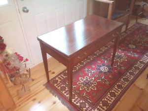 Solid Mahogany Edwardian Folding Table