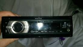 Car radio, Amplifier and speakers