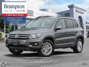 2015 Volkswagen Tiguan 1 Owner | LOW KMS | NAV | BACKUP CAM |