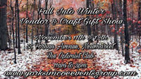 Fall into Winter vendor and craft gift show Newmarket